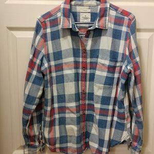 American Eagle Slim Fit Flannel